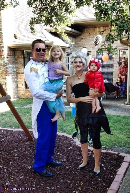 Little Mermaid Family Costume Mermaids The O Jays And