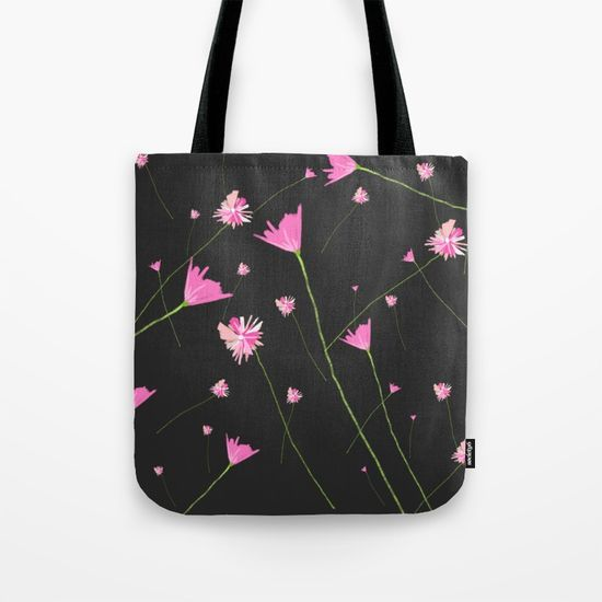 Flowers in the Night II Tote Bag
