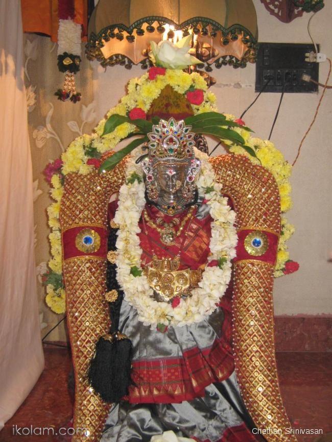 Kolu Arrangement And Kalasha Alankaram Navratri