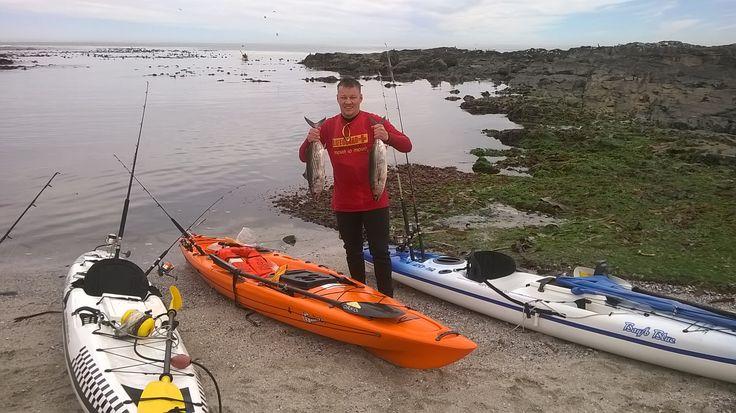 Kayak Fishing - Fluid Bamba