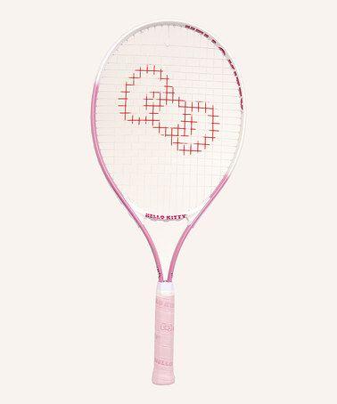 Loving this Pink Hello Kitty 26'' Adult Tennis Racquet on #zulily! #zulilyfinds