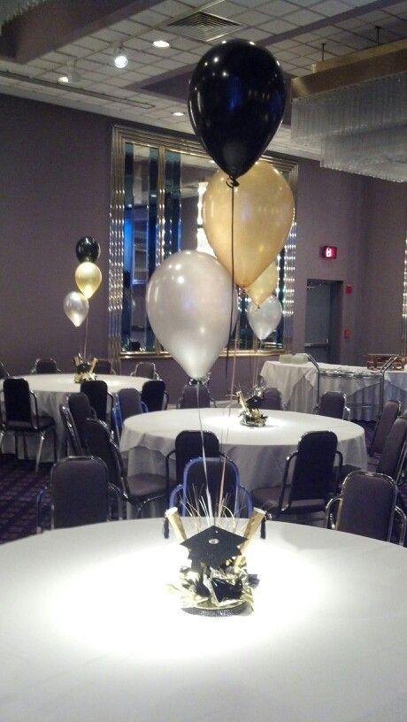 Graduation+Balloon+Centerpieces | Balloon Graduation Centerpieces Pictures