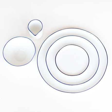 This is J   ceramics   thisisj.com   Abbesses Polished Ceramic Dinnerware