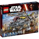 Lego Star Wars: Captain Rexs AT-TE (75157) 75157 The Imperial Inquisitor Fifth Brother and his Stormtrooper accomplice are trying to board Captain Rexs modified AT-TE and take control! This old AT-TE might not be much to look at, but its got cranes, http://www.MightGet.com/january-2017-11/lego-star-wars-captain-rexs-at-te-75157-75157.asp