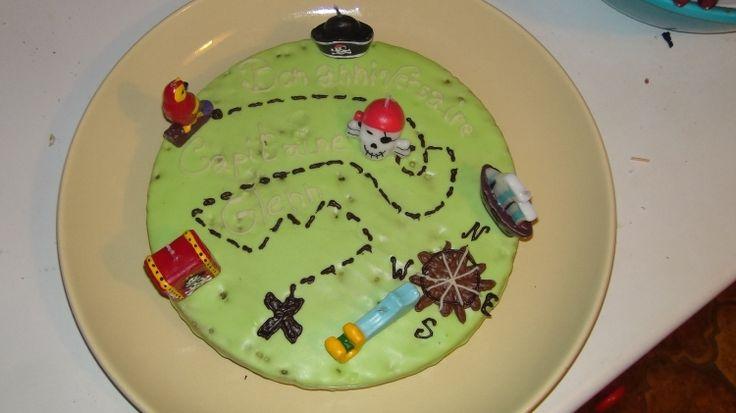 PIRATE PARTY. Un gâteau chasse aux trésors !