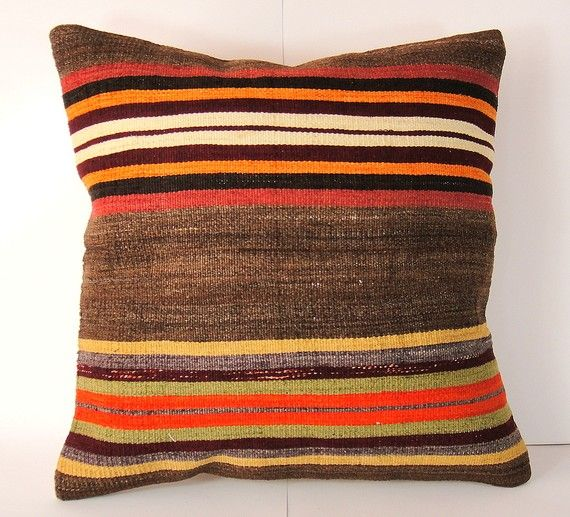 kilim pillow for the in-law suite