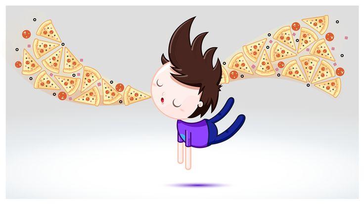 pizza lover on Behance