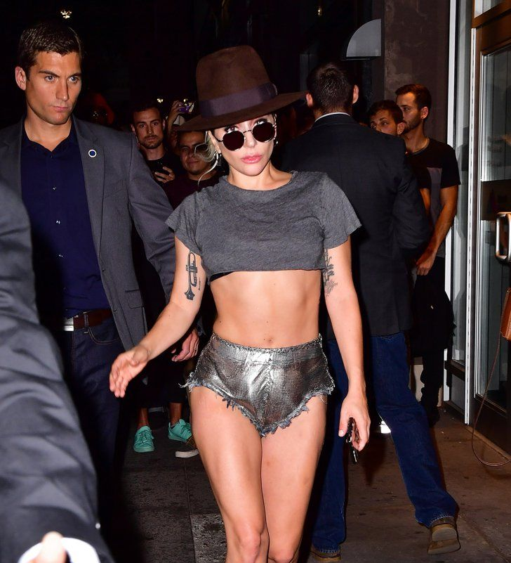 Lady Gaga's Insanely Chiselled Abs Had Tongues Wagging During Her Sexy NYC Outing