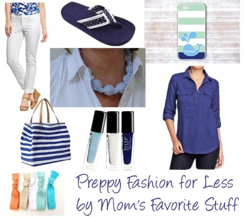 Preppy Fashion for Less