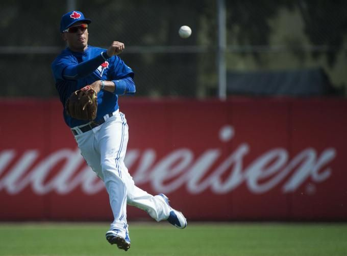 Mitch Nays homer the difference in Toronto Blue Jays intra squad game