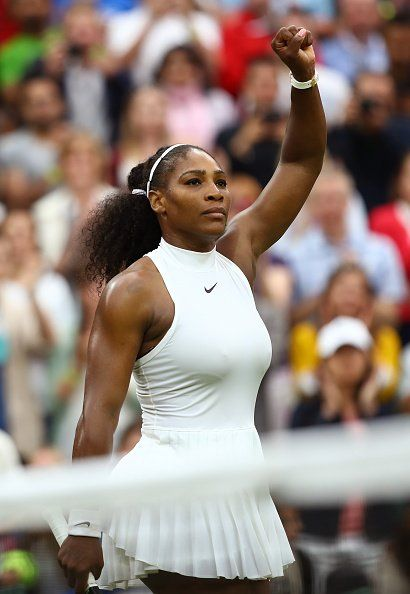This gesture supposedly had the British press wanting to know if this was some sort of statement. Forget Deuce Deuce They tried to catch her off guard with a political question instead of sticking to the here and now. She addressed everything in her press conference