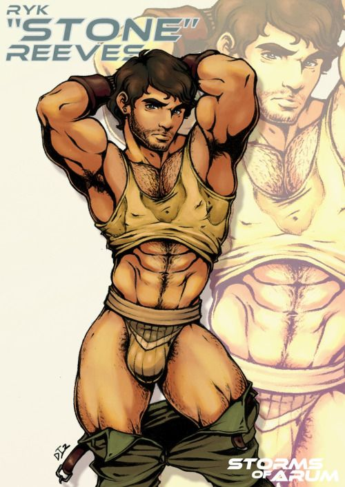 from Cullen pose hot muscle gay