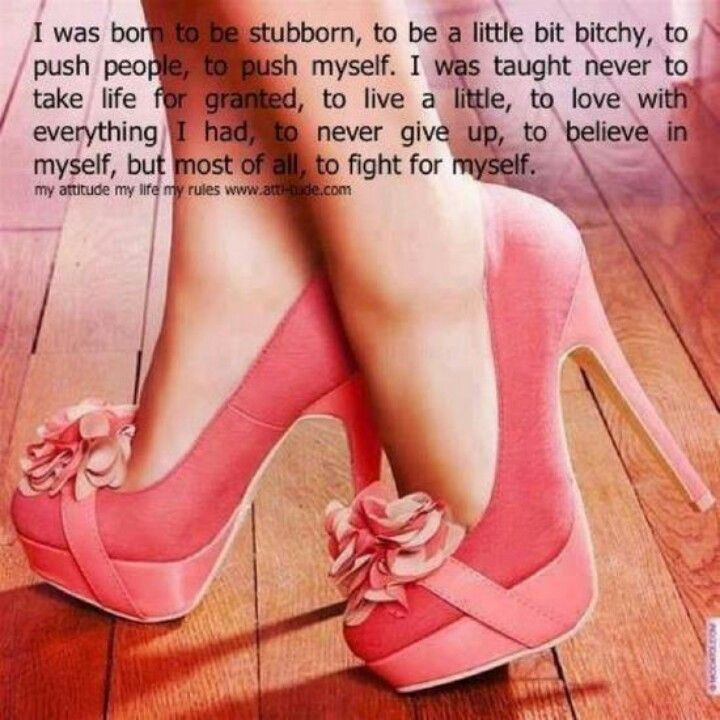 Perfect quote for Katie. Rockin shoes too!