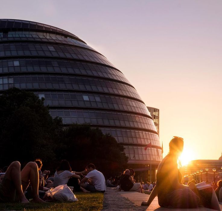 Another amazing sunset in London!