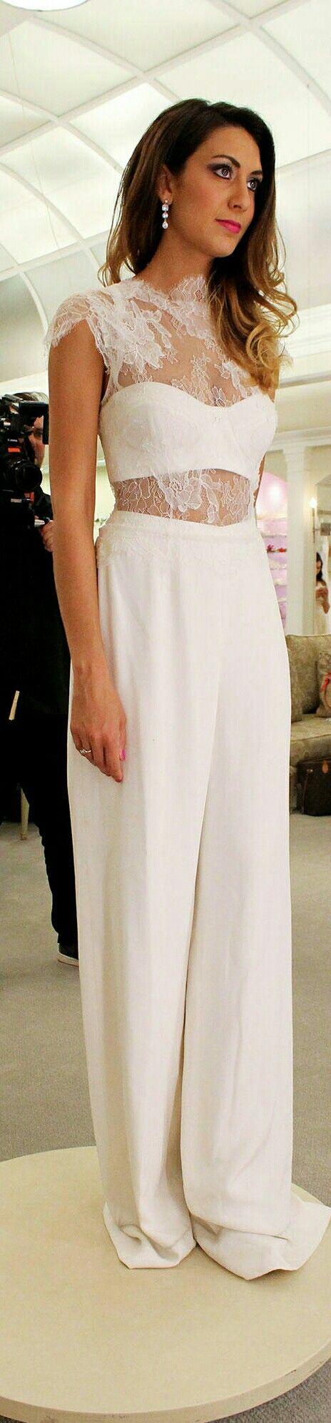 "Natalie Bullard is Trying on a Wedding Jumpsuit for Season 14 - ""The Dress"" - [TLC];April 6, 2016."