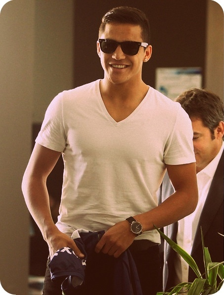 alexis sanchez.....nothing is hotter than a guy in humble swag =)