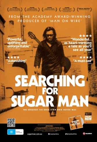 Rodriguez 'Searching for Sugarman' Brilliant music documentary - Enjoyable film. Need to find the music.