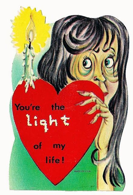 48 Creepy And Scary Vintage Valentine S Day Cards Vintage