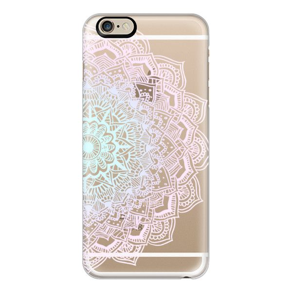 iPhone 6 Plus/6/5/5s/5c Case - Pastel Lace Mandala ($40) ❤ liked on Polyvore featuring accessories, tech accessories, phone, phone cases, tech, electronics, iphone cases, iphone 6 case, apple iphone 6 case and apple iphone cases