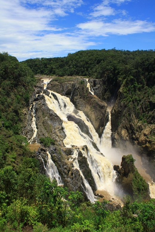 Barron Falls, Kuranda, Cairns, Queensland, after the rain