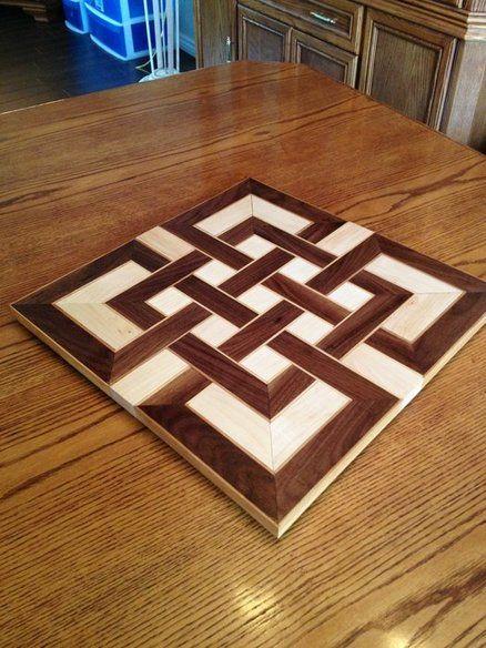 Celtic knot cutting board.