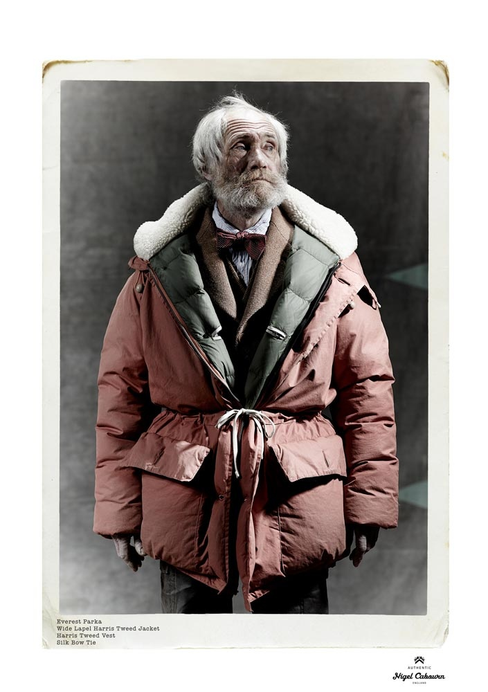 Mike Smith for Nigel Cabourn