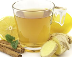 Ginger tea for cold/flu season