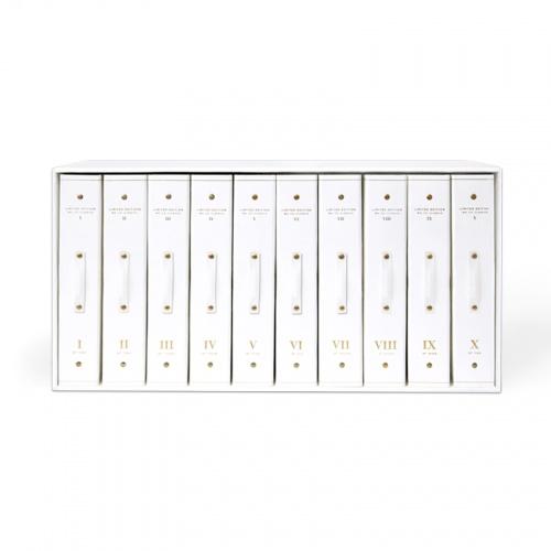 1-10 Binder Set - White | www.russellandhazel.com