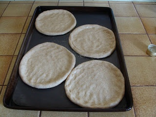 Homemade Pizza: Individual 6-Inch or Regular Large Size