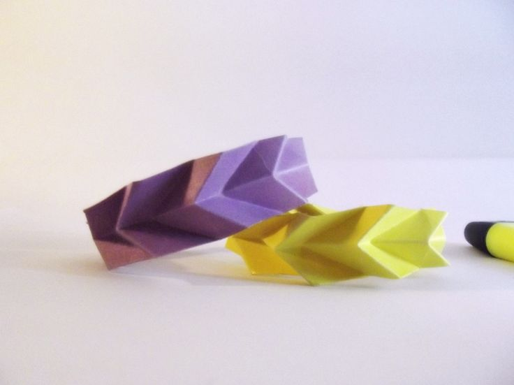 #Origami #Bracelet fluo purple and yellow #Bynadia https://www.etsy.com/it/listing/198111928/bracciali-fluo-origami-accessori-carta?ref=shop_home_active_1