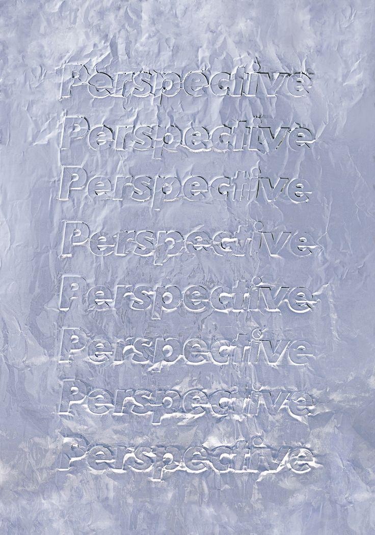 HEGEMONIC 2 — PerspectiveTypography, Imprint on aluminum paper — October 2015