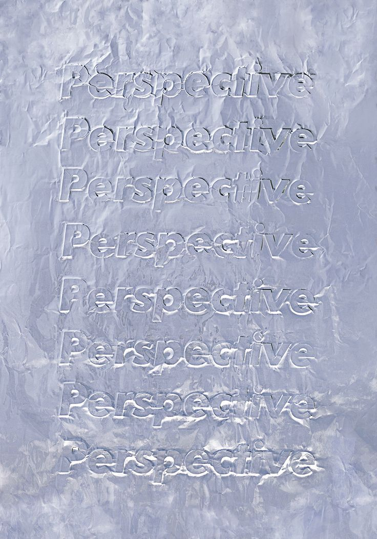 HEGEMONIC 2 — PerspectiveTypography,  Imprint on aluminum paper — October 2015