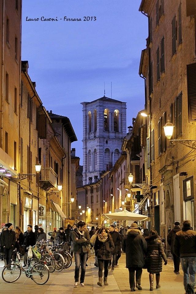 Ferrara - Italy Via Mazzini
