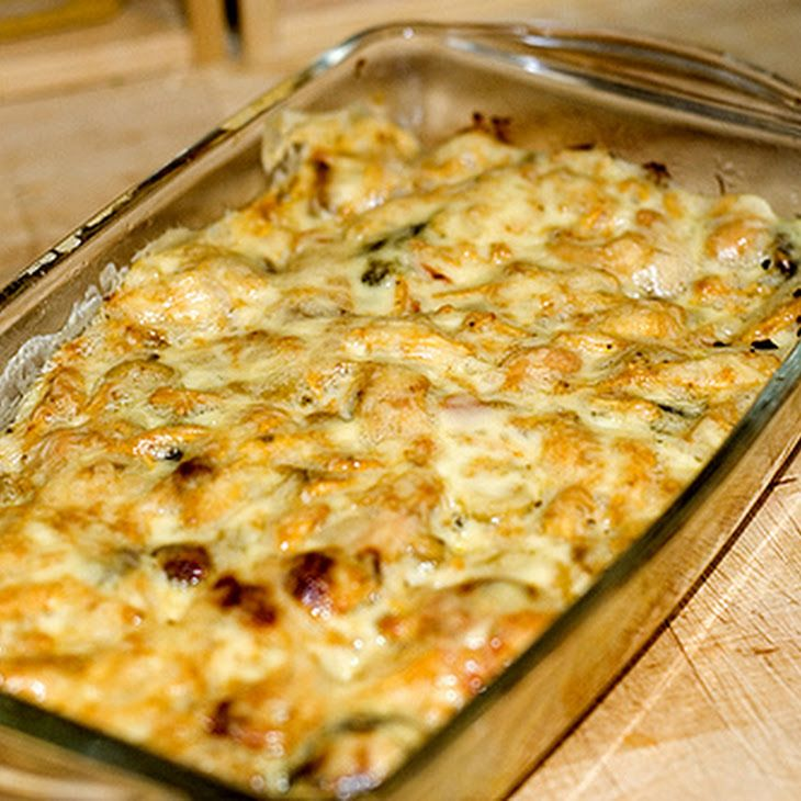 Ritz and Chicken Casserole Recipe, would be really good with broccoli in it too