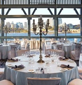 Water @ Pier One | Sydney's Premier Waterfront Wedding Reception Venue | Sebel Pier One