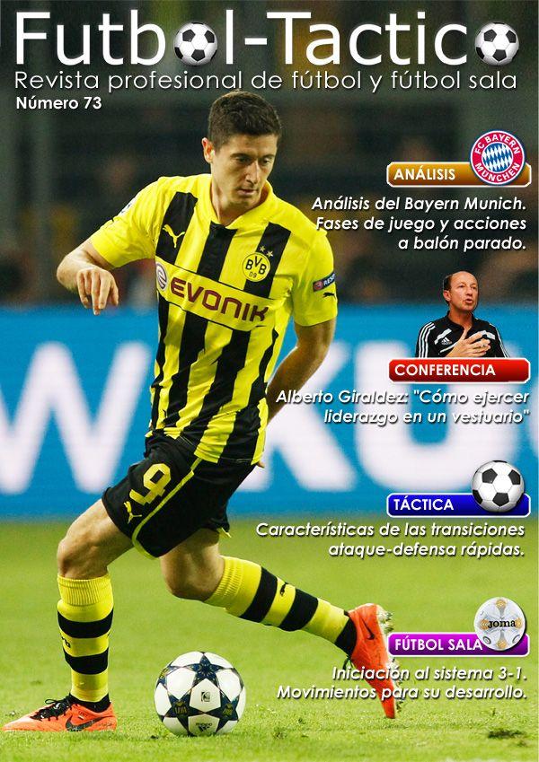Fútbol Táctico | Portada de la edición número 73