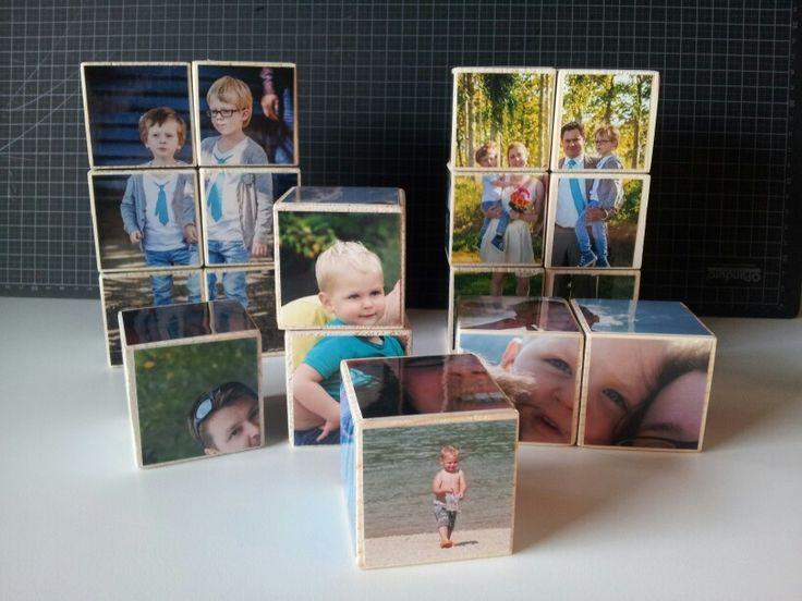 Foto-blokken-puzzel, #GreetThings