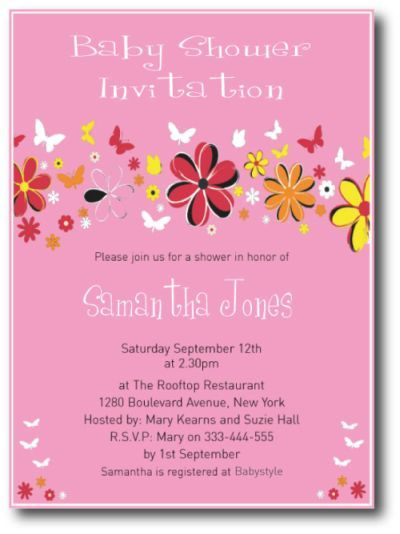 9 best Handmade Baby Shower Invitations images on Pinterest - invitation wording for baby shower