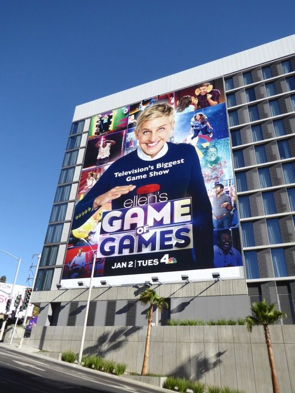 Ellen S Game Of Games Series Premiere Billboard Billboard Game Show Series Premiere