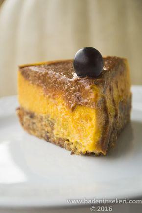 Balkabaklı Unsuz & Şekersiz Pasta – Bade'nin Şekeri