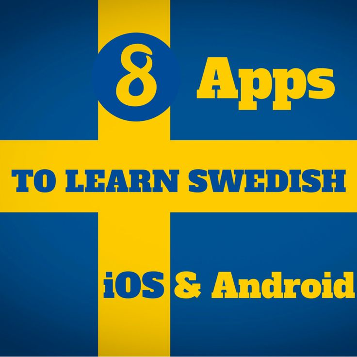 This post is aimed at people who want to learn Swedish through various iPad / iPhone apps and some Android apps.