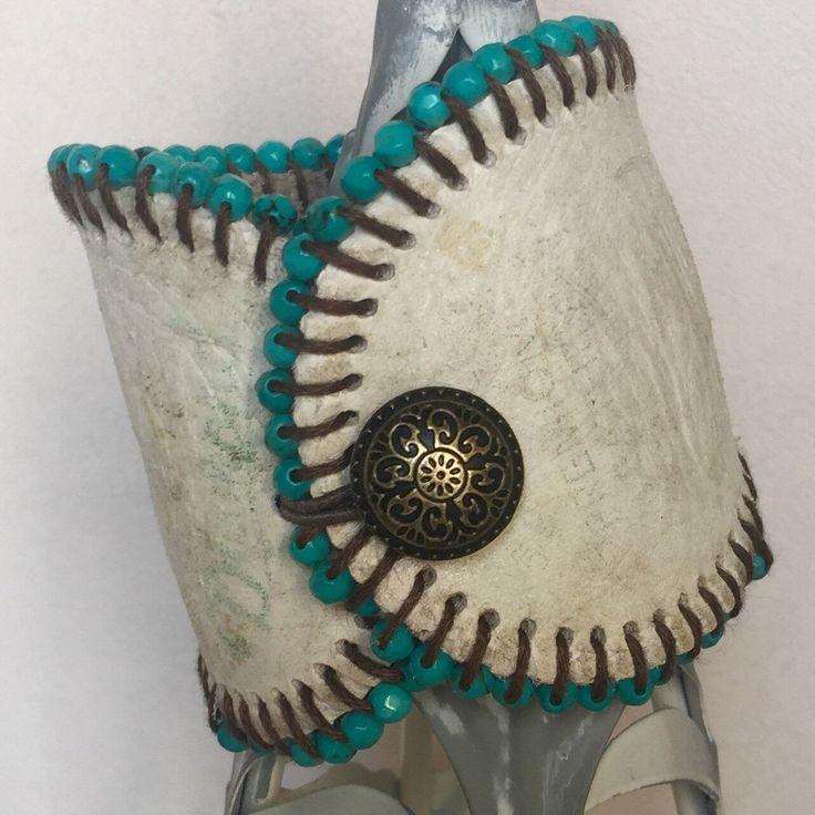 Baseball Cuff Bracelet, Baseball Bracelet, Leather BFF Bracelet by…