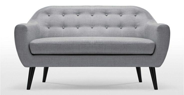 Ritchie, un canapé 2 places gris perle