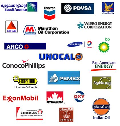 image gallery oil company logos