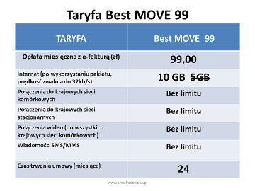 BEST MOVE 99 oferta z telefonem