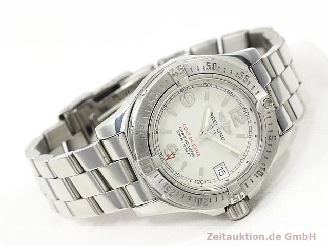 BREITLING LADY COLT OCEAN COCKPIT LADY'S WATCH EDLSTEEL REF A77380 VP: 2290,- EURO