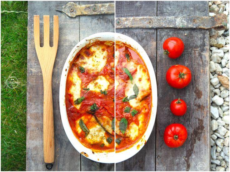 Zapiekanka z bakłażanem i sosem pomidorowym czyli Aubergine parmigiana – Simon COOKs