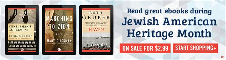 E-Books for Jewish American Heritage Month!