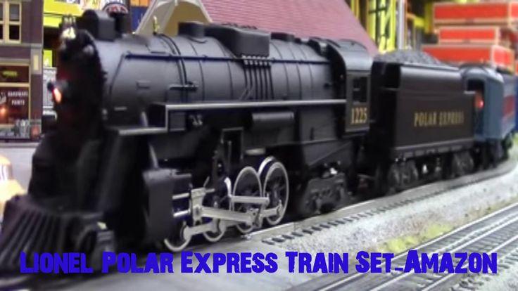 Lionel Polar Express Train Set-Amazon