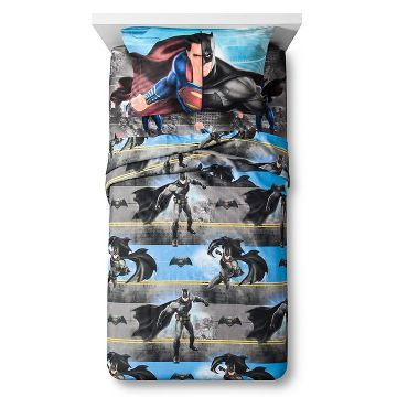 Batman vs Superman® Sheet Set - Twin - Multicolor - 3pc